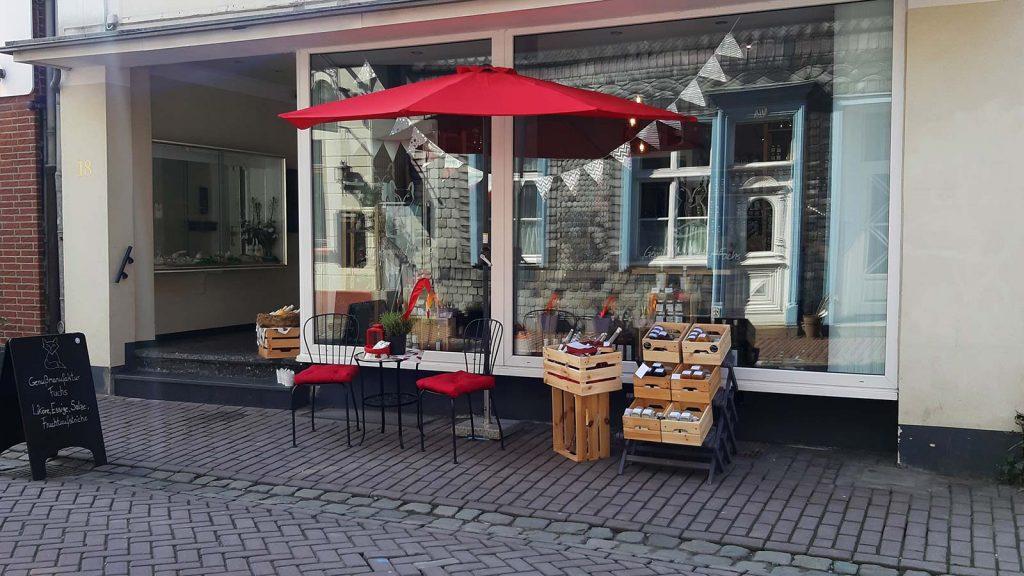Aussenansicht vom Geschäft in Lüdinghausen